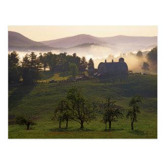 Cartão Postal EUA, Virgínia, o Condado de Giles, fazenda