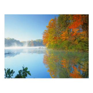 Cartão Postal EUA, Virgínia, parque estadual de pedra