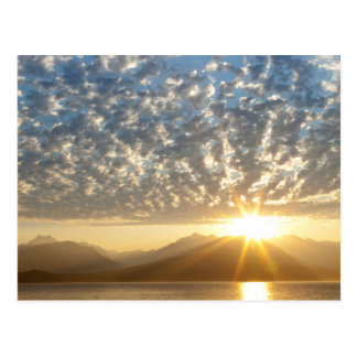 Cartão Postal EUA, Washington, Seabeck. Por do sol