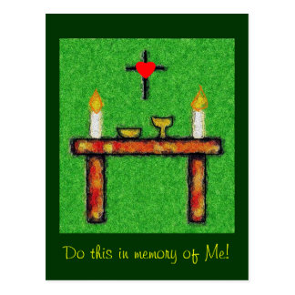 Cartão Postal Eucaristia II