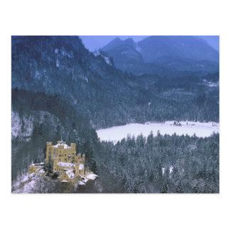 Cartão Postal Europa, Alemanha, Baviera, Hohenschwangau