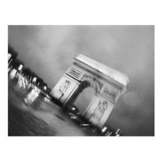 Cartão Postal Europa, France, Paris. Arco do Triunfo de giro