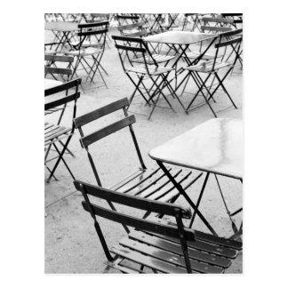 Cartão Postal Europa, France, Paris. Cadeiras, Jardin du 3