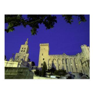 Cartão Postal Europa, France, Provence, Avignon. DES de Palais