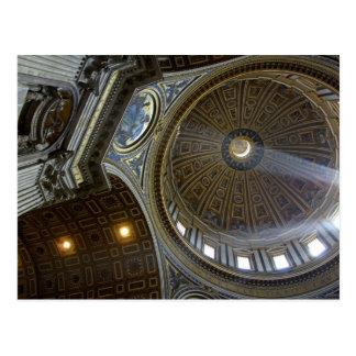 Cartão Postal Europa, Italia, Roma. A basílica de St Peter (aka