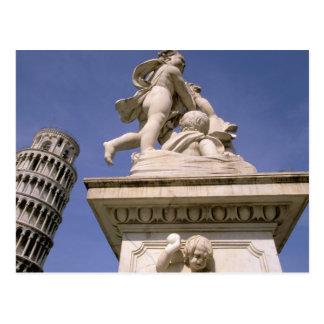 Cartão Postal Europa, Italia, Toscânia, Pisa. Dei da praça