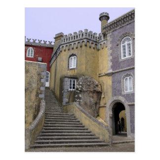 Cartão Postal Europa, Portugal, Sintra. O nacional 2 de Pena
