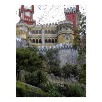 Cartão Postal Europa, Portugal, Sintra. O nacional 3 de Pena