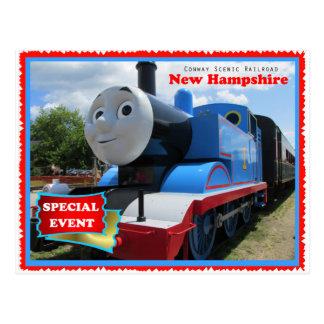 Cartão Postal Evento cénico da estrada de ferro de Conway