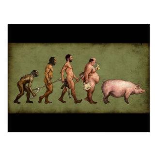 Cartão Postal Evolução alterada