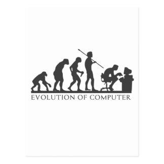 Cartão Postal Evolução do COMPUTADOR