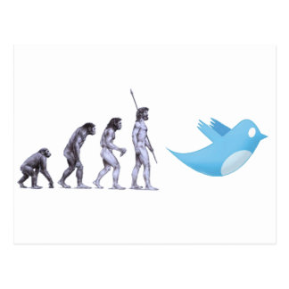 Cartão Postal Evolução do Twitter