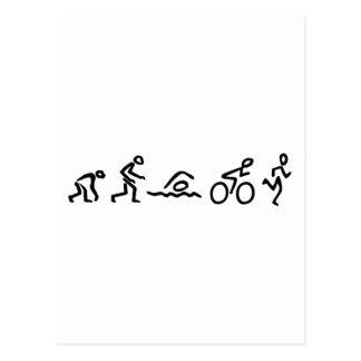 Cartão Postal Evolução tri