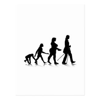 Cartão Postal Evolution_8 humano