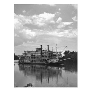 Cartão Postal Excursão Navio a vapor de Cincinnati, 1942