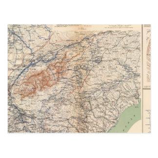 Cartão Postal Exército das campanhas de Cumberland