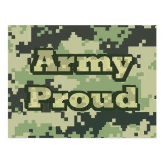 Cartão Postal Exército orgulhoso