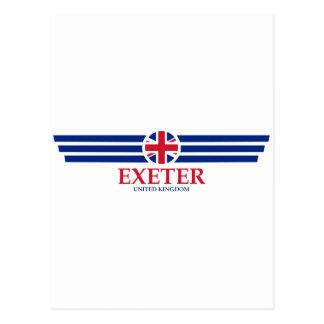 Cartão Postal Exeter