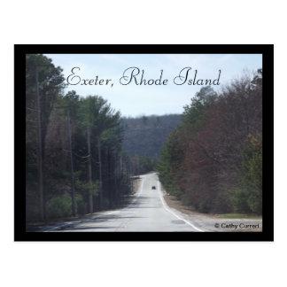 Cartão Postal Exeter, Rhode - ilha