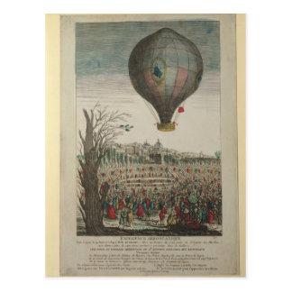 Cartão Postal Experiência do balão de ar quente