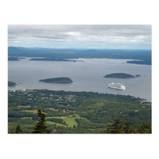 Cartão Postal Explorador dos mares dentro do parque nacional do