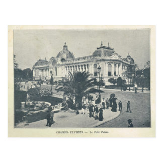 Cartão Postal Expo 1900 de Paris, Petit Palais de Elysees dos