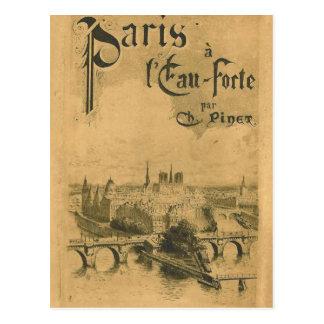 Cartão Postal Exposição 1900 de Paris