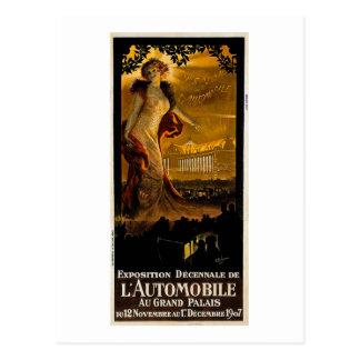 Cartão Postal Exposição Decnnale De L' Automóvel - 1907
