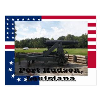 Cartão Postal Exposição do canhão do cerco do parque estadual de