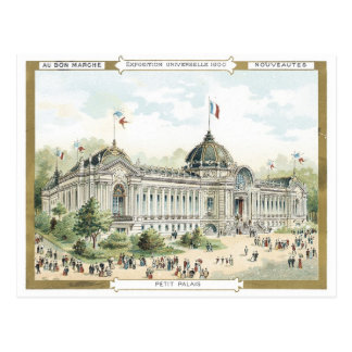 Cartão Postal Exposição Universelle do Petit Palais de Marche do