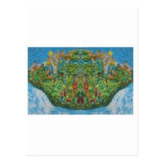 Cartão Postal Expressão abstrata: 'ESTEPONA DANCING