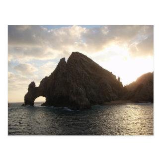 Cartão Postal Extremidade Cabo San Lucas das terras