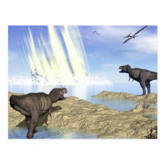 Cartão Postal Extremidade dos dinossauros