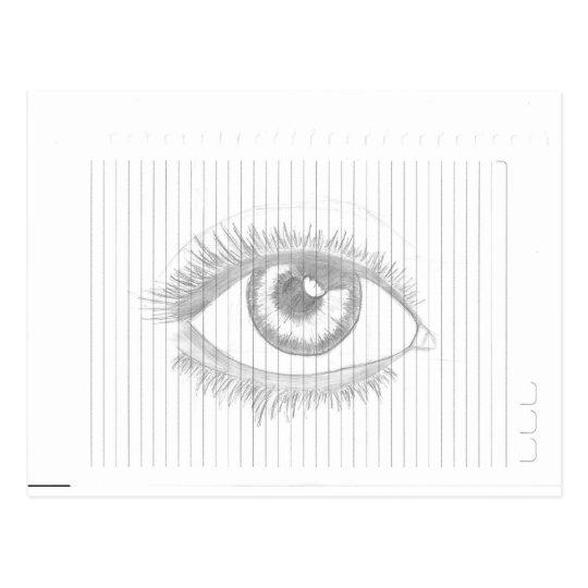 Cartão Postal Eye