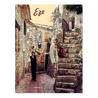 Cartão Postal Eze, Provence