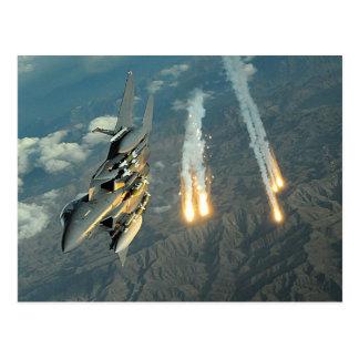 Cartão Postal F-15 Eagle