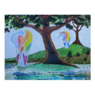 Cartão Postal Fabricantes do arco-íris