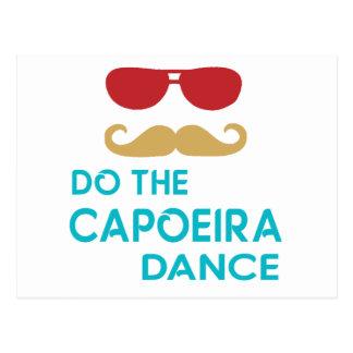 Cartão Postal Faça a dança de Capoeira