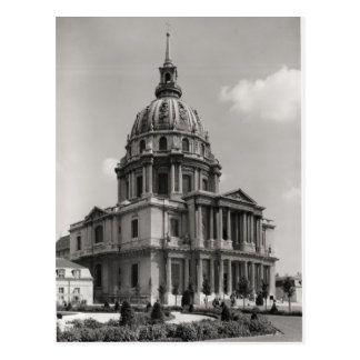 Cartão Postal Fachada da igreja de St Louis