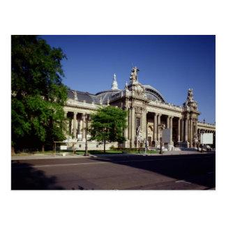Cartão Postal Fachada do Palais grande