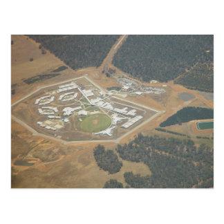 Cartão Postal Facilidade da prisão ao leste de Perth na