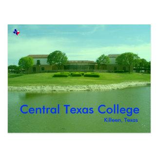 Cartão Postal Faculdade central de Texas, Killeen Texas