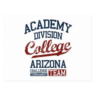 Cartão Postal faculdade da divisão da academia