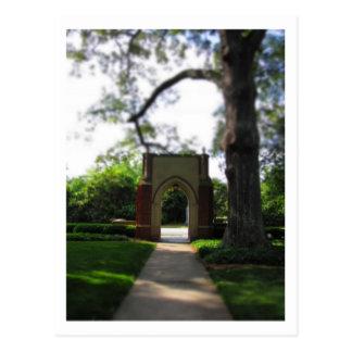 Cartão Postal Faculdade de Agnes Scott, Atlanta, Geórgia