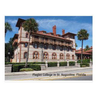 Cartão Postal Faculdade de Flagler em St Augustine Florida