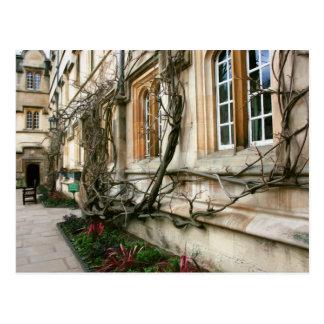Cartão Postal Faculdade de Jesus em Oxford, Inglaterra