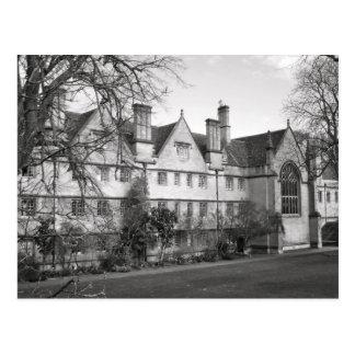 Cartão Postal Faculdade de Wadham, Oxford