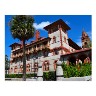Cartão Postal Faculdade histórica de Flagler