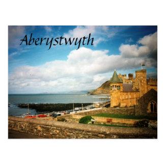 Cartão Postal Faculdade velha de Aberystwyth