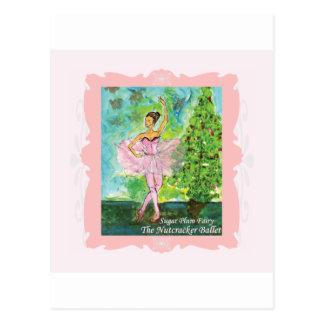Cartão Postal Fada 2010 do Sugarplum da edição